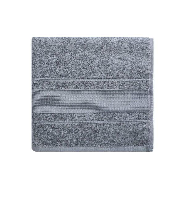 Grå håndklæde 50x100 cm Arosa Design fra finehome
