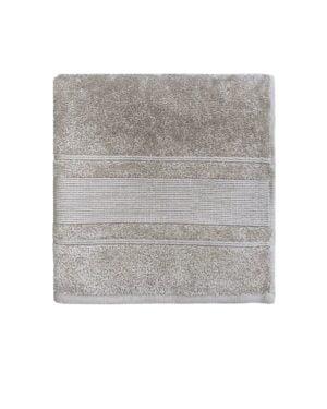 Badehåndklæde beige 70x140