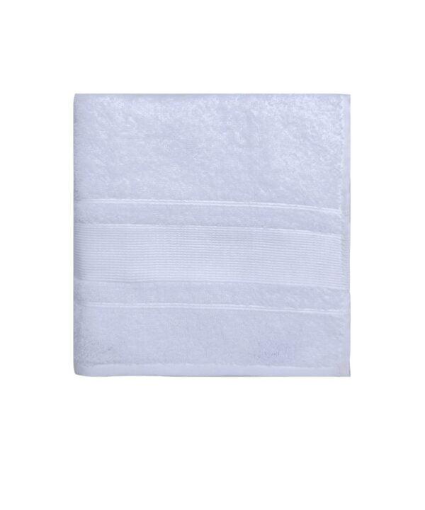 Hvid Arosa Design haandklaede fra finehome