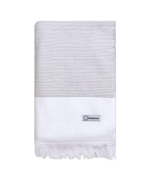 Hammamhåndklæde badehåndklæde luksus på badeværelset. Brug hamam håndklæde fra finehome