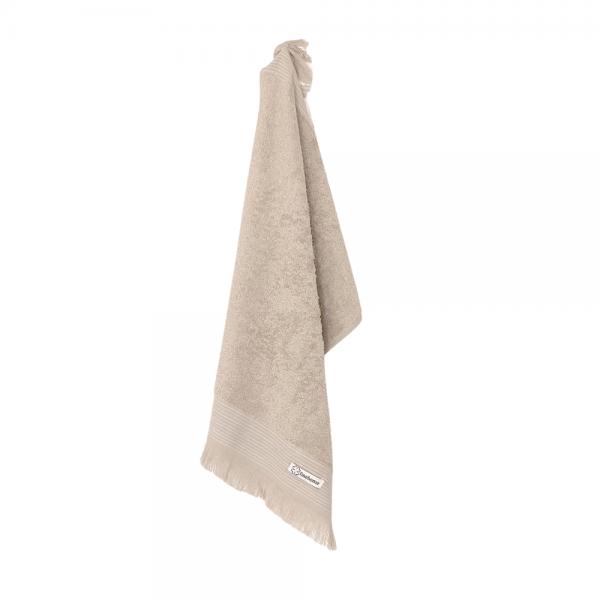 Luksus gæstehåndklæde 40x40 beige Cenon Design fra finehome