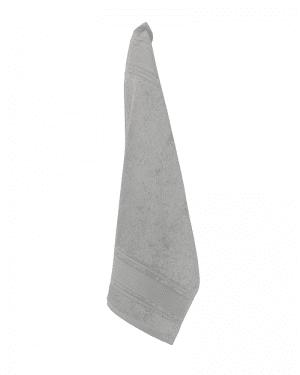 Luksus gæstehåndklæder grå 40x60 Arosa Design finehome