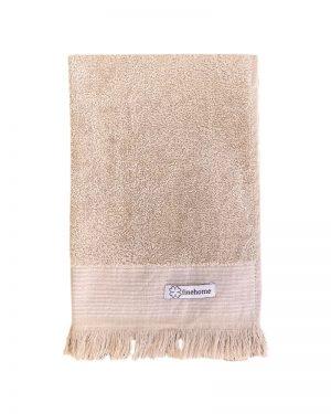 Gæstehåndklæde beige 40x60 cm Cenon Design finehome