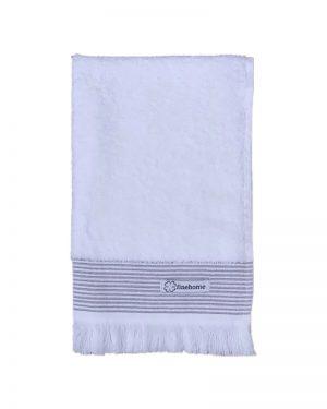 Gæstehåndklæde hvid 40x60 Cenon Design finehome