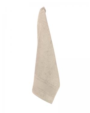 Luksus gæstehåndklæder beige 40x60 cm Arosa Design fra finehome