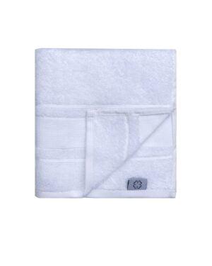 Hvidt badehåndklæde - 100% bomuld