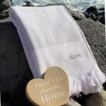 stort badehåndklæde og luksus hammam håndklæde