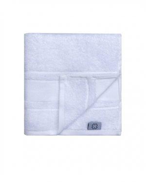 Hvidt håndklæde - bomuldshåndklæde