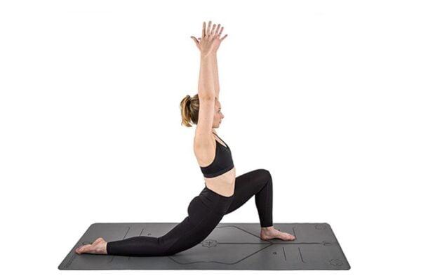 Økologisk yogamåtte