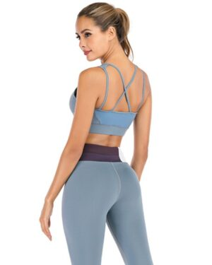Sports Top – Petrol Blue dame blue