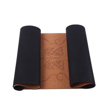 4,5 mm tyk kork yogamåtte