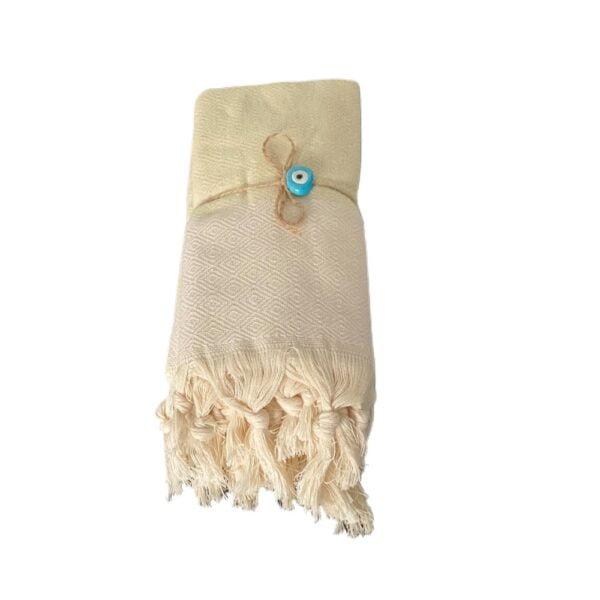Hammamhåndklæder 2 stk i lys mint grøn farve - køb billige hammam håndklæder hos finehome