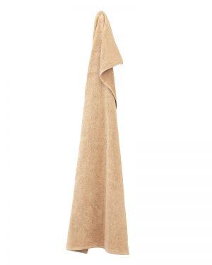 Alba Design håndklæde Organic Sand 50x100 fra finehome