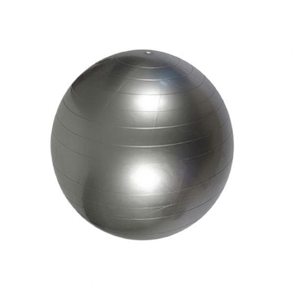 Grå træningsbold yoga gym ball i 55 cm fra finehome
