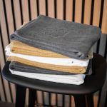 Organic Hearts badehåndklæder fra finehome