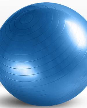 Blå træningsbold 55cm