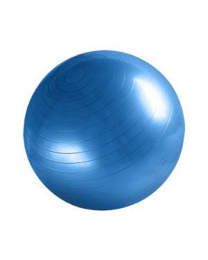 Fitnessbold i blå 55 cm fra finehome