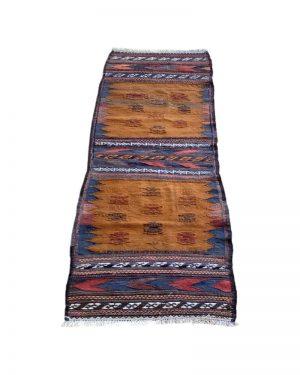 kelimtæppe - kelim Afghan old style kelimløber