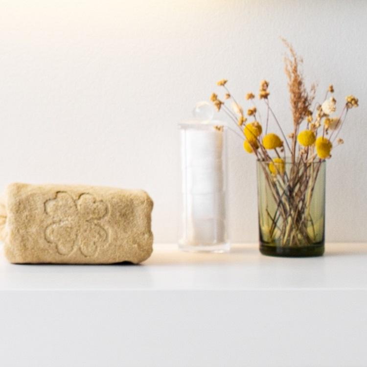 luksus håndklæder og økologiske håndklæder fra finehome i sand