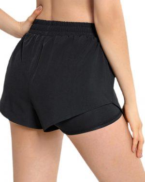 shorts med lomme til mobil