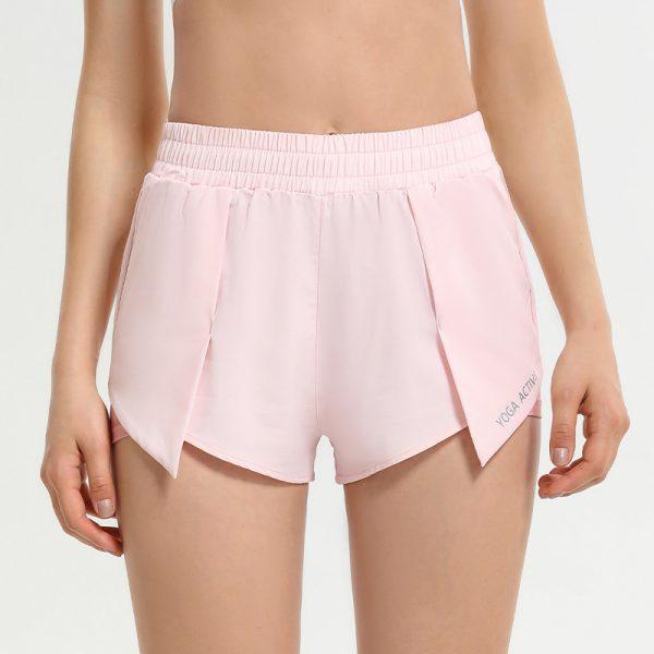 2-i-1 lyserøde shorts