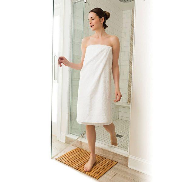 Køb bademåtte i bæredygtigt materiale