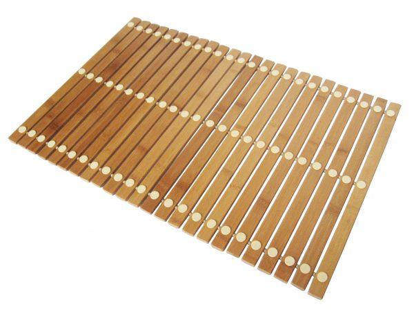 Bademåtte bambus 50x70 cm