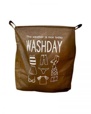 Washday snavsetøjspose og vasketøjspose til opbevaring af vasketøj