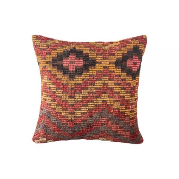 kilim pude 50x50 med smukt mønster