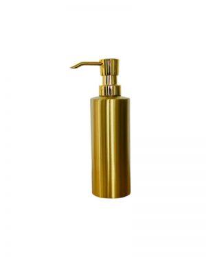 Sæbedispenser guld med refill funktion fra finehome